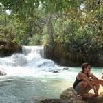 Luang Prabang - Tat Kuang Si - waterfall