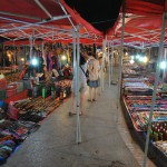 Luang Prabang - Marché de nuit