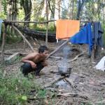 1er jour de trek - Banlung
