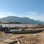 Traversée du Mekong pour rejoindre Champasak