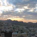 Wadi Musa - Sun Set