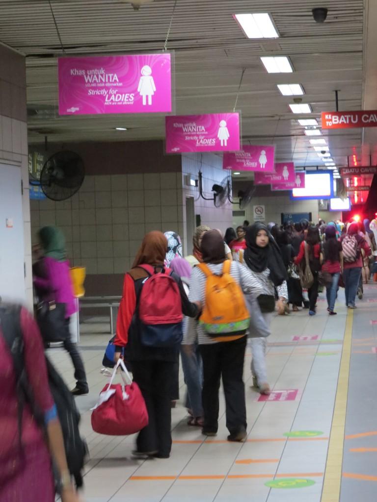 Rame de métro réservée aux femmes